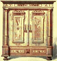 French Armoire   Louis XIII