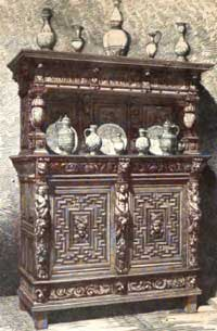 German Furniture Gothic And Renaissance Traits