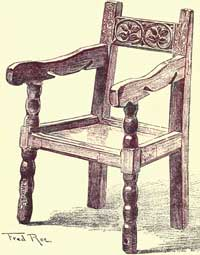 Jacobean Chairs - A Child Chair