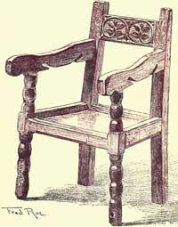 Jacobean Chairs   A Child Chair